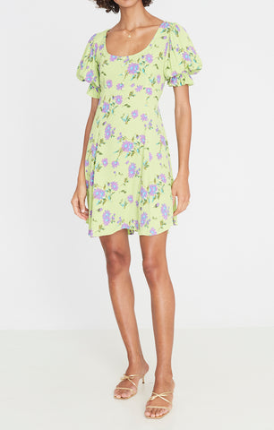 La Barben Mini Dress Locanda Floral Print-Harvest Beauty