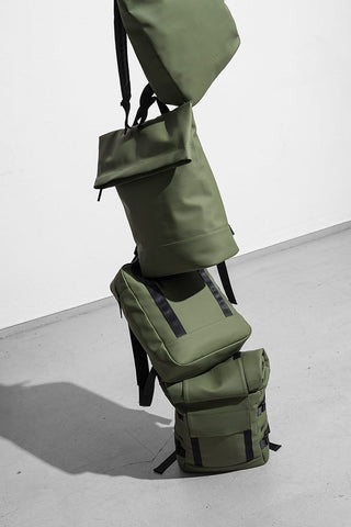 ISON BACKPACK in OLIVE LOTUS SERIES