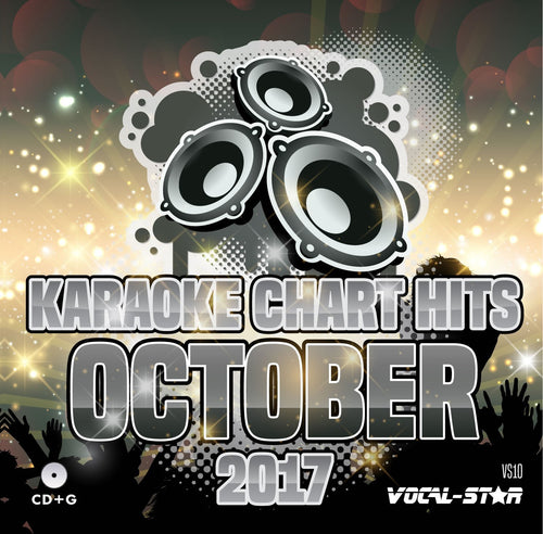 VOCAL-STAR OCTOBER HITS KARAOKE CDG DISC 18 SONGS