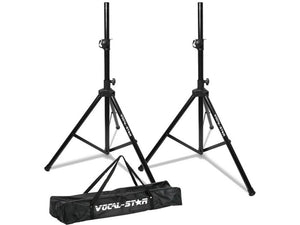 Vocal Star SS-1 High Quality Tripod Speaker Stand Kit & Carry Bag
