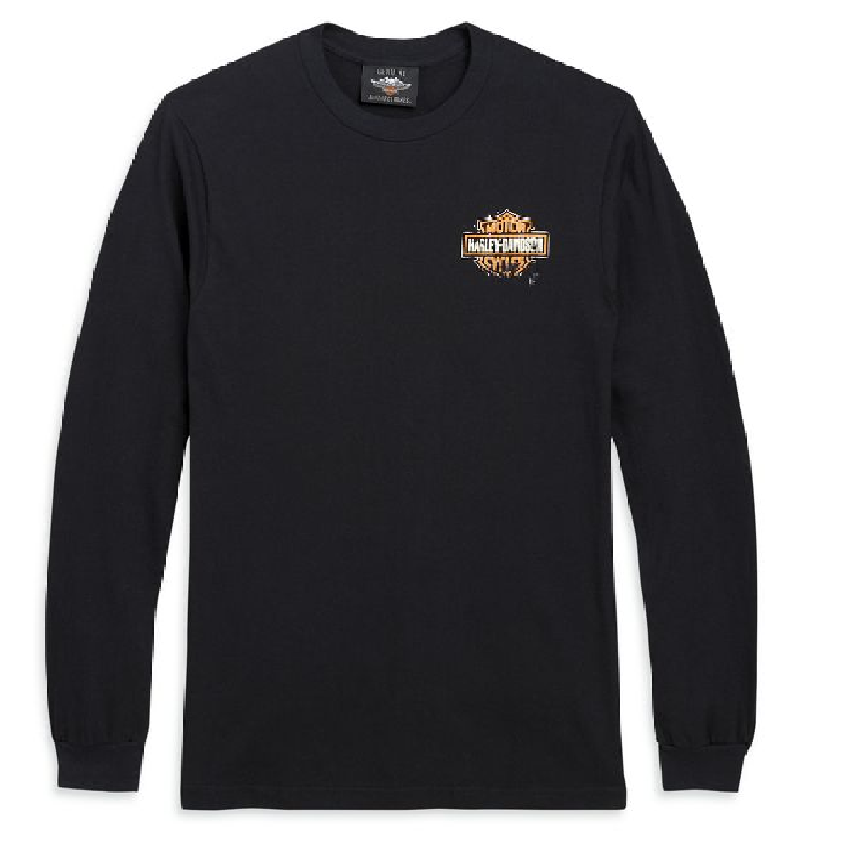 Patina Bar & Shield Logo Long Sleeve Tee