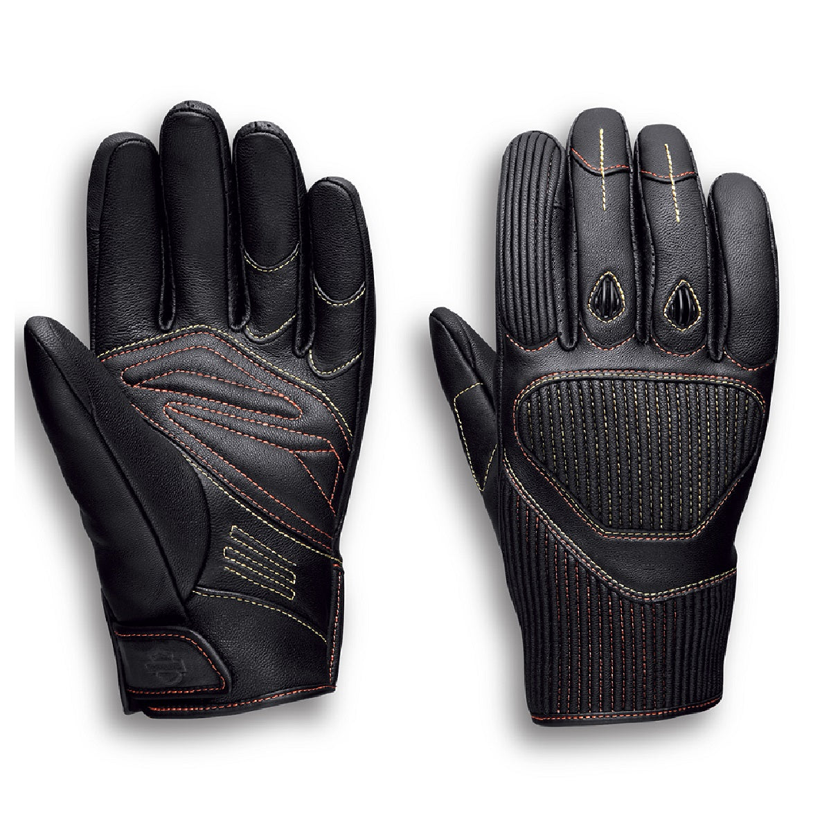 Watt Goatskin Leather Full-Finger Gloves