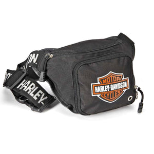 LOGO BELT BAG BLACK
