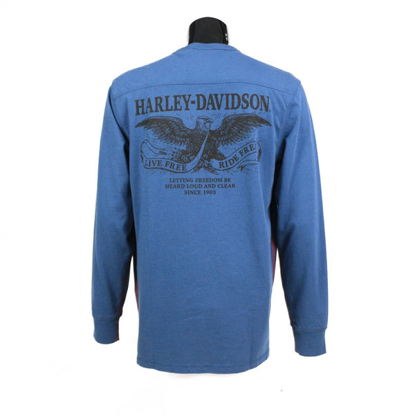 Freedom Long Sleeve Cotton Henley