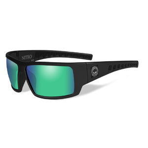 HD NITRO GREEN MIRROR LENS