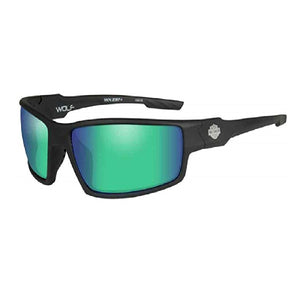 HD WOLF GREEN MIRROR LENS