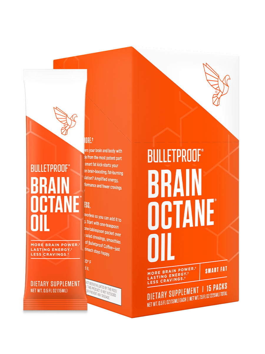 Bulletproof Brain Octane Oil GoPacks