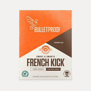 Bulletproof French Kick Coffee Pods