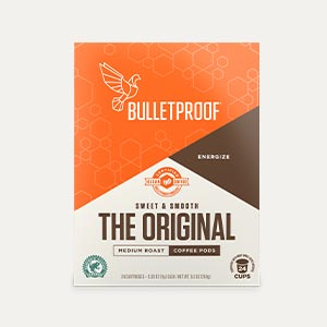 Bulletproof Coffee Pods Original package