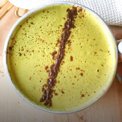 Adaptogenic Turmeric Latte Recipe