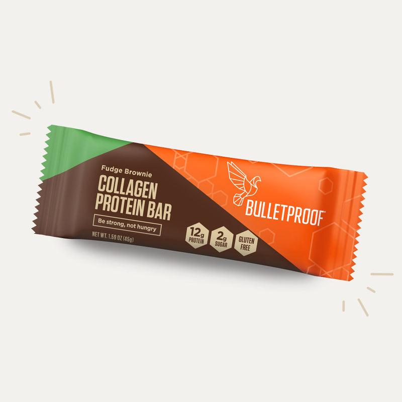 Bulletproof Collagen Protein Fudge Brownie bar