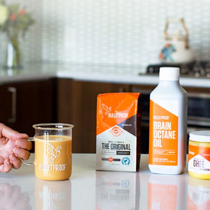 Bulletproof Coffee recipe ingredients