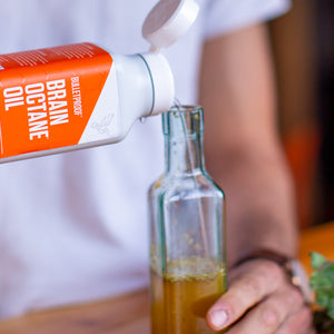 Bulletproof Brain Octane Oil salad dressing