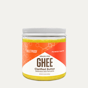 Bulletproof Grass Fed Ghee container