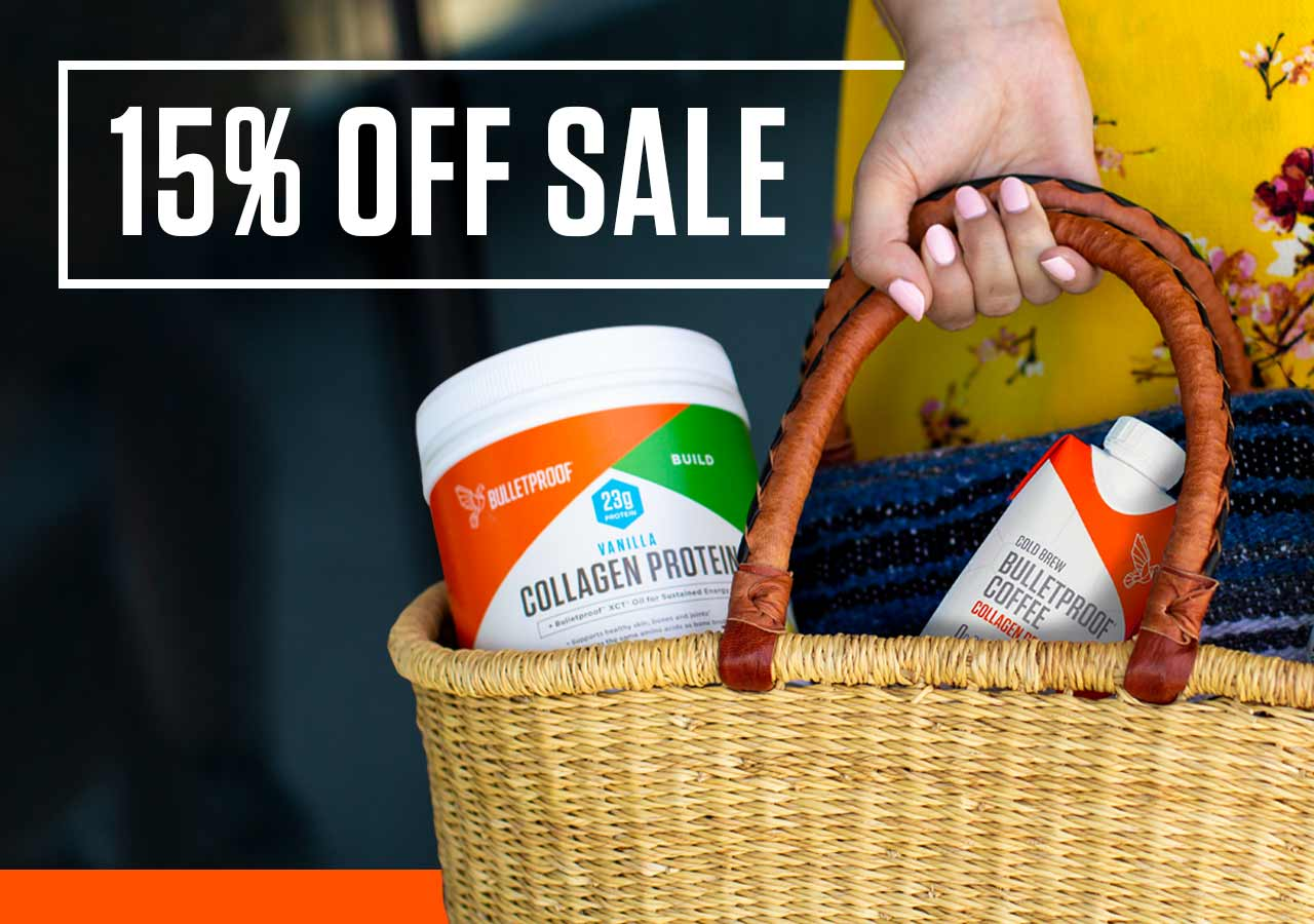 Bulletproof Collagen Protein and Cold Brew Sale