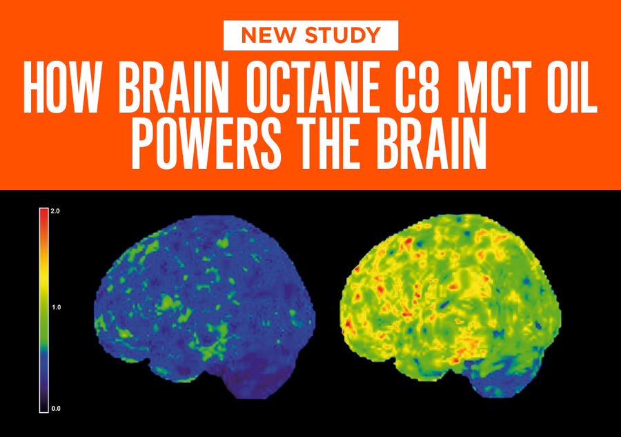New Study: How Brain Octane C8 MCT Oil Powers the Brain