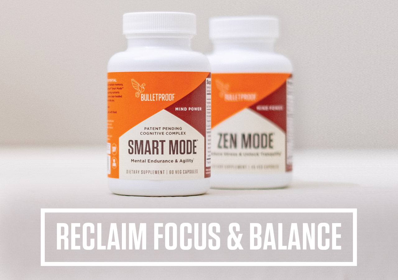 RECLAIM FOCUS AND BALANCE