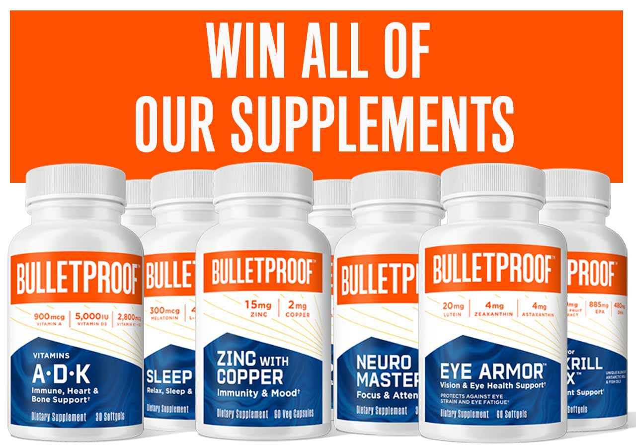 Win all of our supplements
