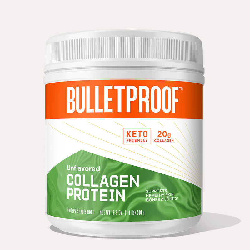 Bulletproof Collagen Protein Unflavored 17.6oz