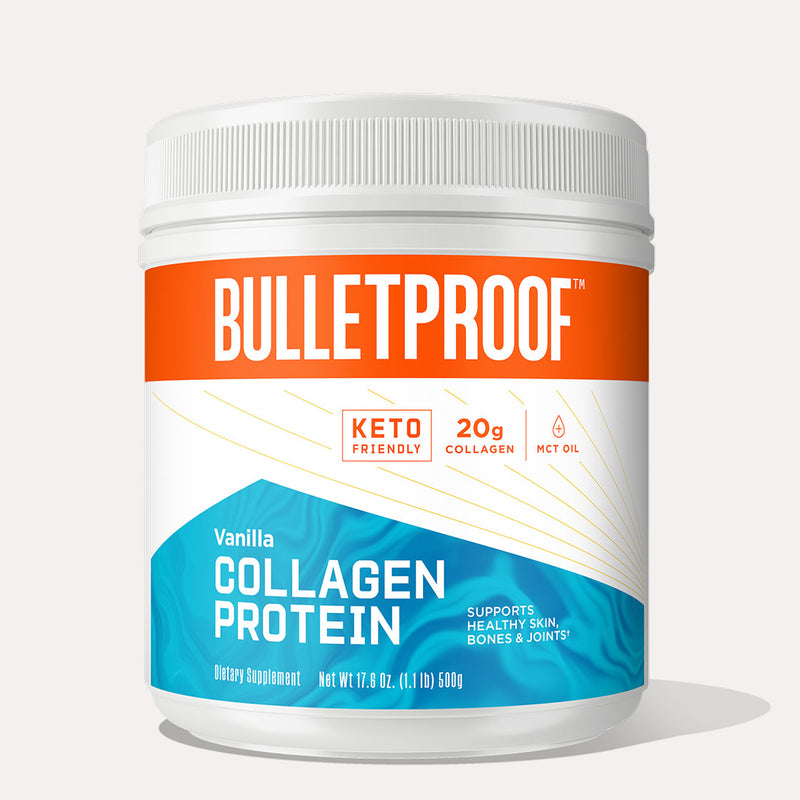 Bulletproof Collagen Protein Vanilla 17.6 oz