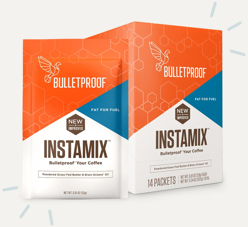 Bulletproof Coffee InstaMix packaging