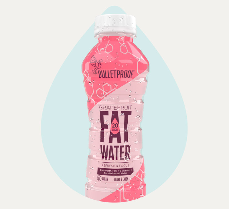 Bulletproof FATwater Grapefruit bottle