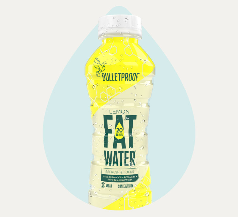 Bulletproof FATwater Lemon bottle