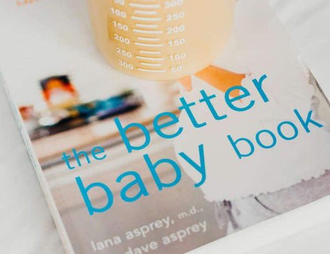 Cover of Lana Asprey's 'The Better Baby Book'