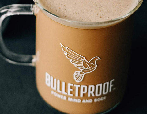 Bulletproof Coffee in Bulletproof Beaker