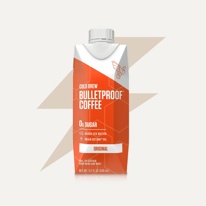 Bulletproof Coffee Cold Brew Original bottle