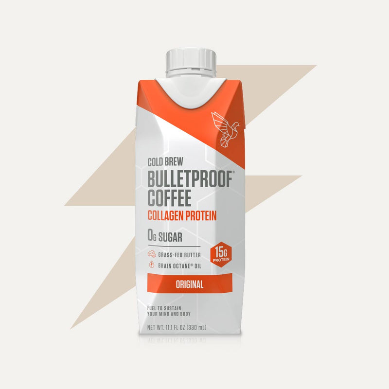 Bulletproof Coffee Cold Brew Original with Collagen Protein bottle