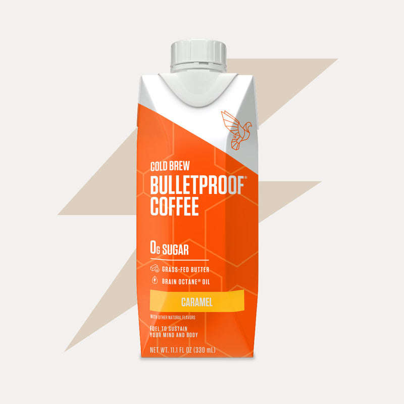 Bulletproof Coffee Cold Brew Caramel bottle