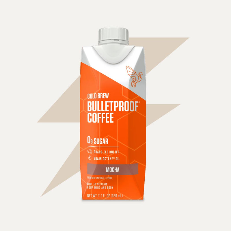 Bulletproof Coffee Cold Brew Mocha bottle