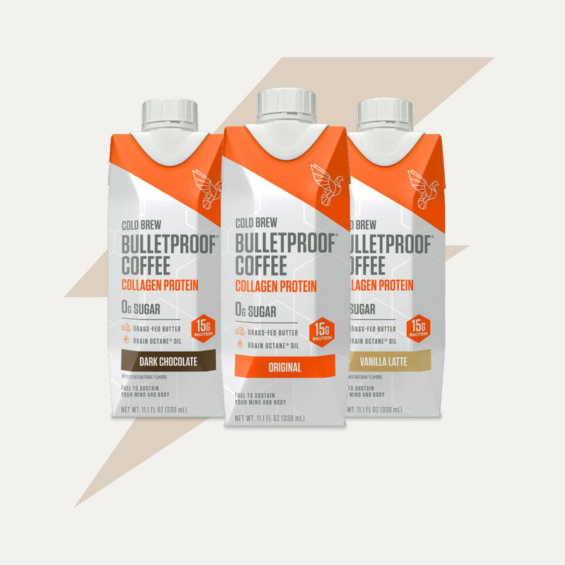 Bulletproof Coffee Cold Brew Variety Case packaging