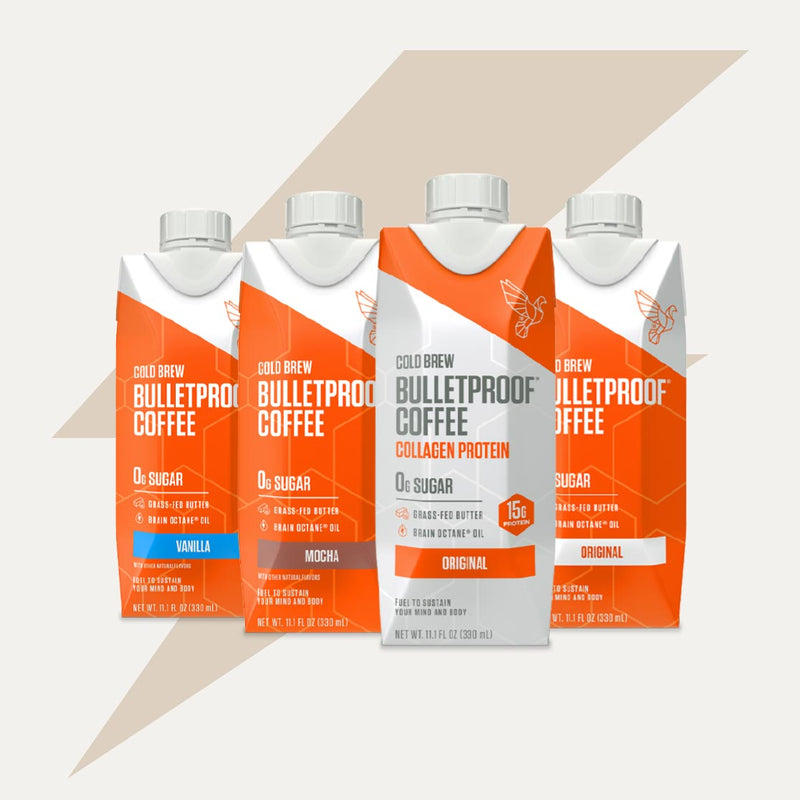 Bulletproof Coffee Cold Brew bottle