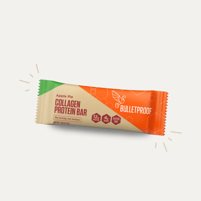 Bulletproof Apple Pie Collagen Protein Bar