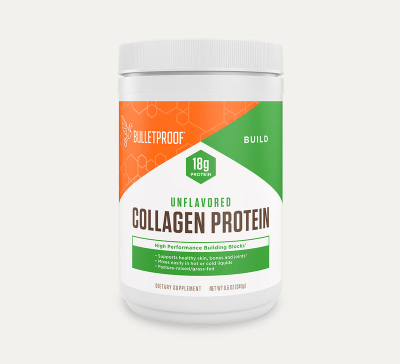 Bulletproof Collagen Protein Unflavored tub