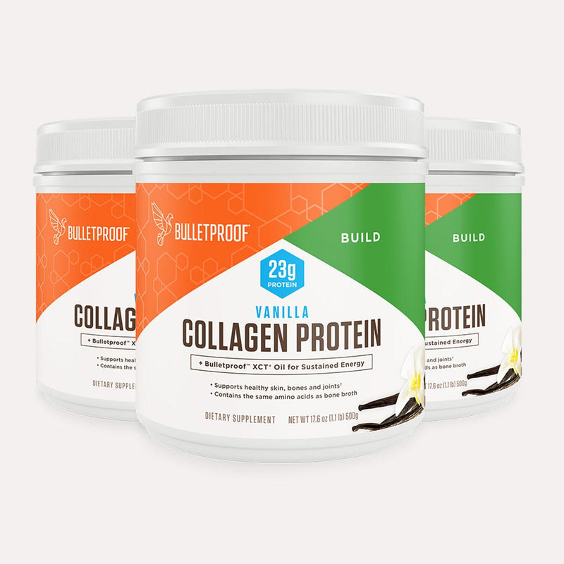 Bulletproof Collagen Protein Vanilla tub