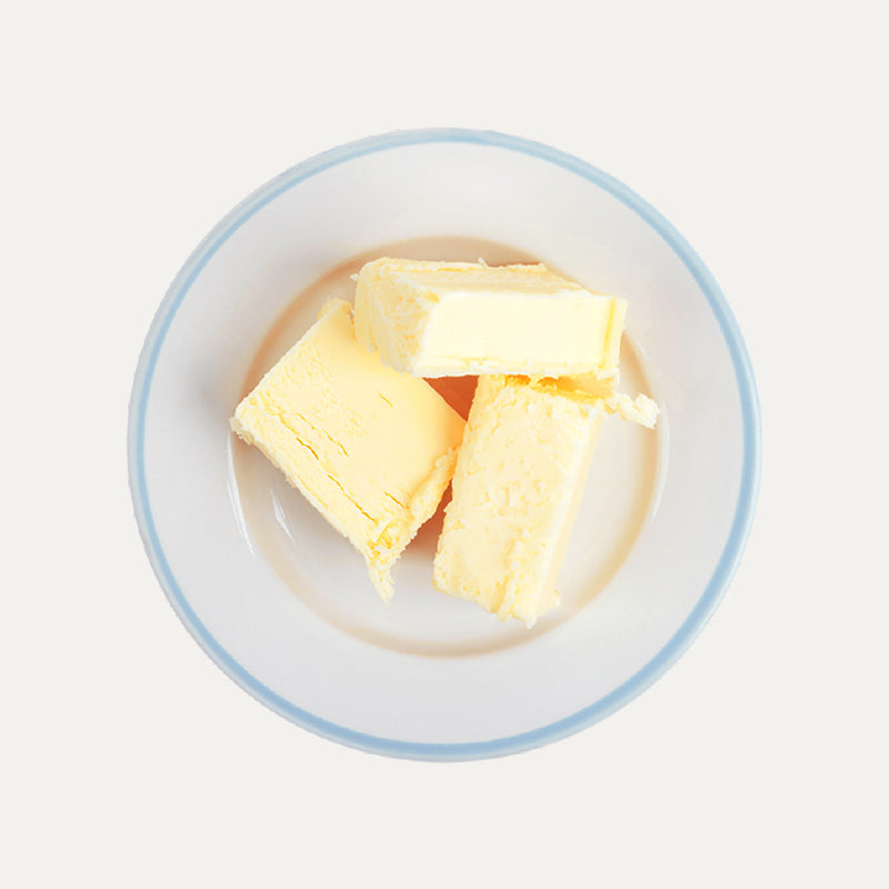 Plate of butter