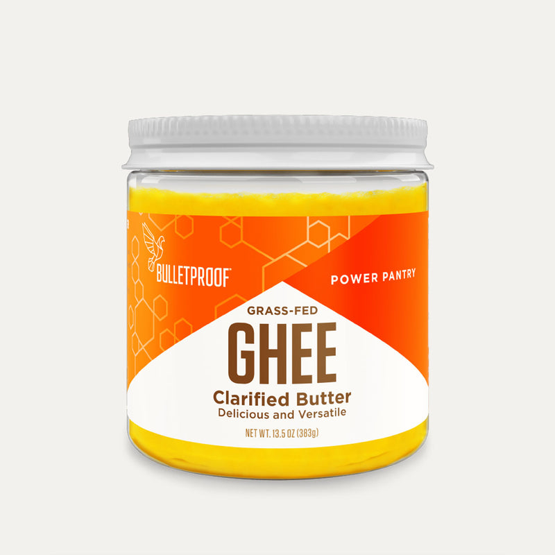 Bulletproof Grass-Fed Ghee container