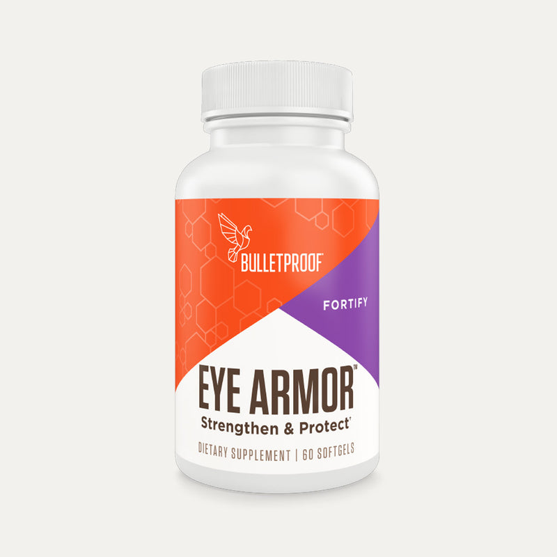 Bulletproof Eye Armor bottle