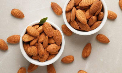 Raw Almonds - rich in copper