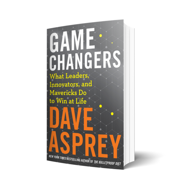 Cover of Game Changers by Dave Asprey