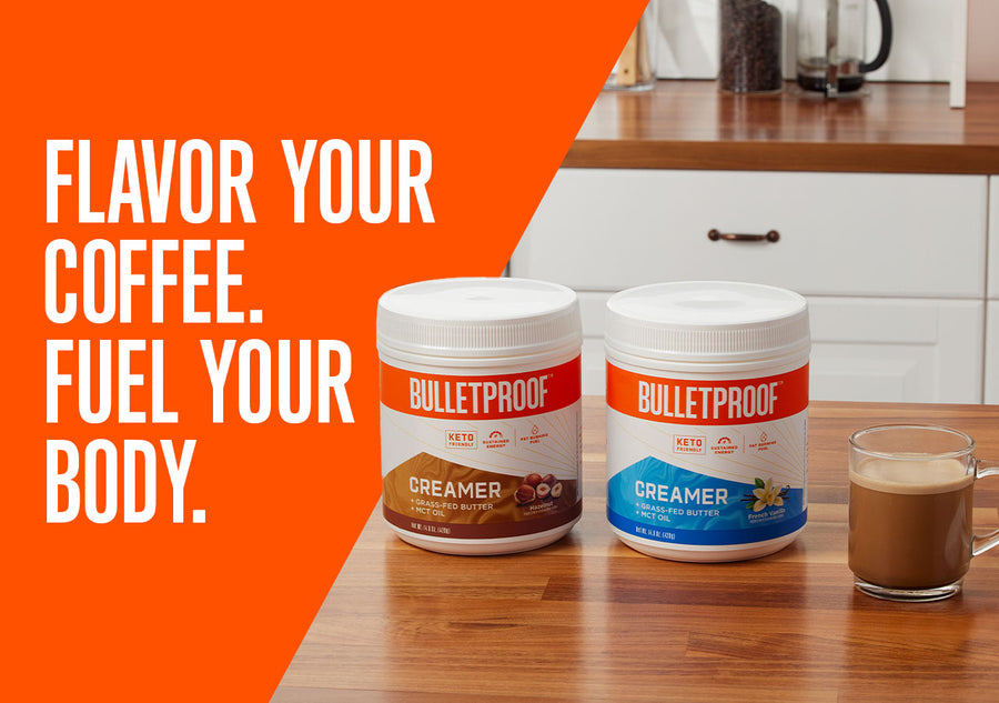 Flavor Your Coffee. Fuel Your Body.