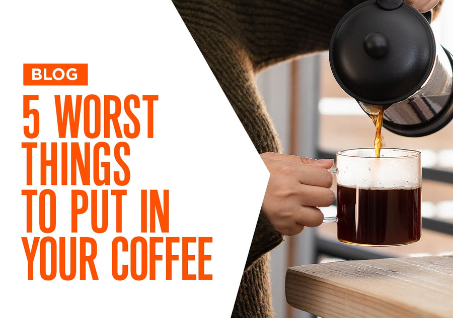 5 Worst Things to Put in Your Coffee