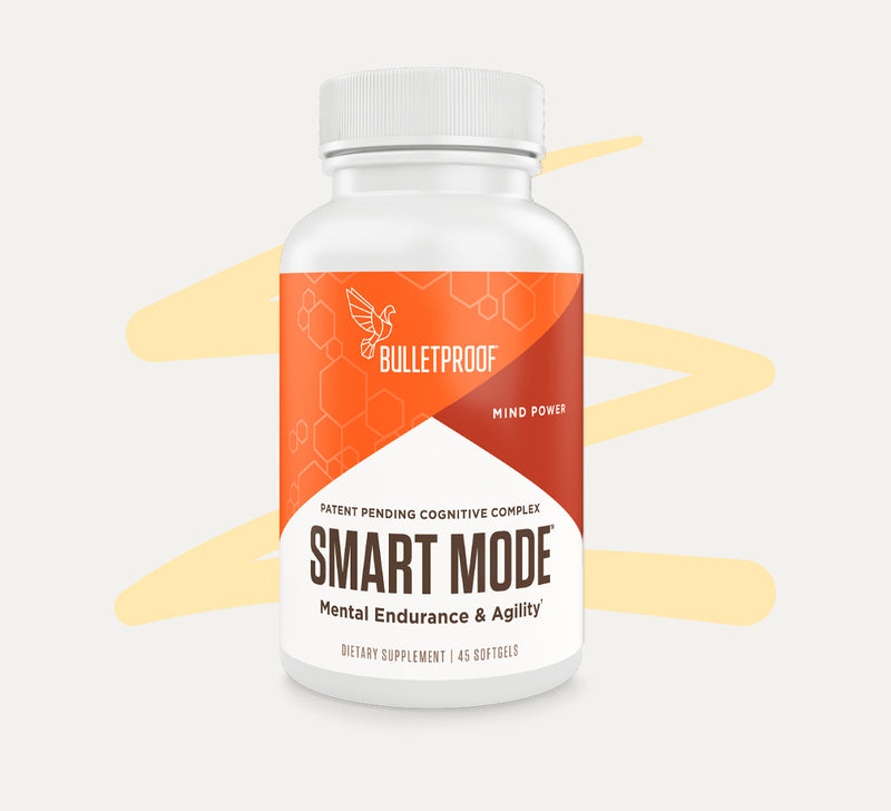 Bulletproof Smart Mode bottle