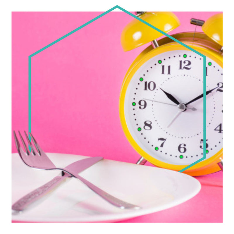 Alarm clock and plate