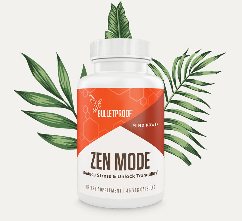 Bulletproof Zen Mode bottle