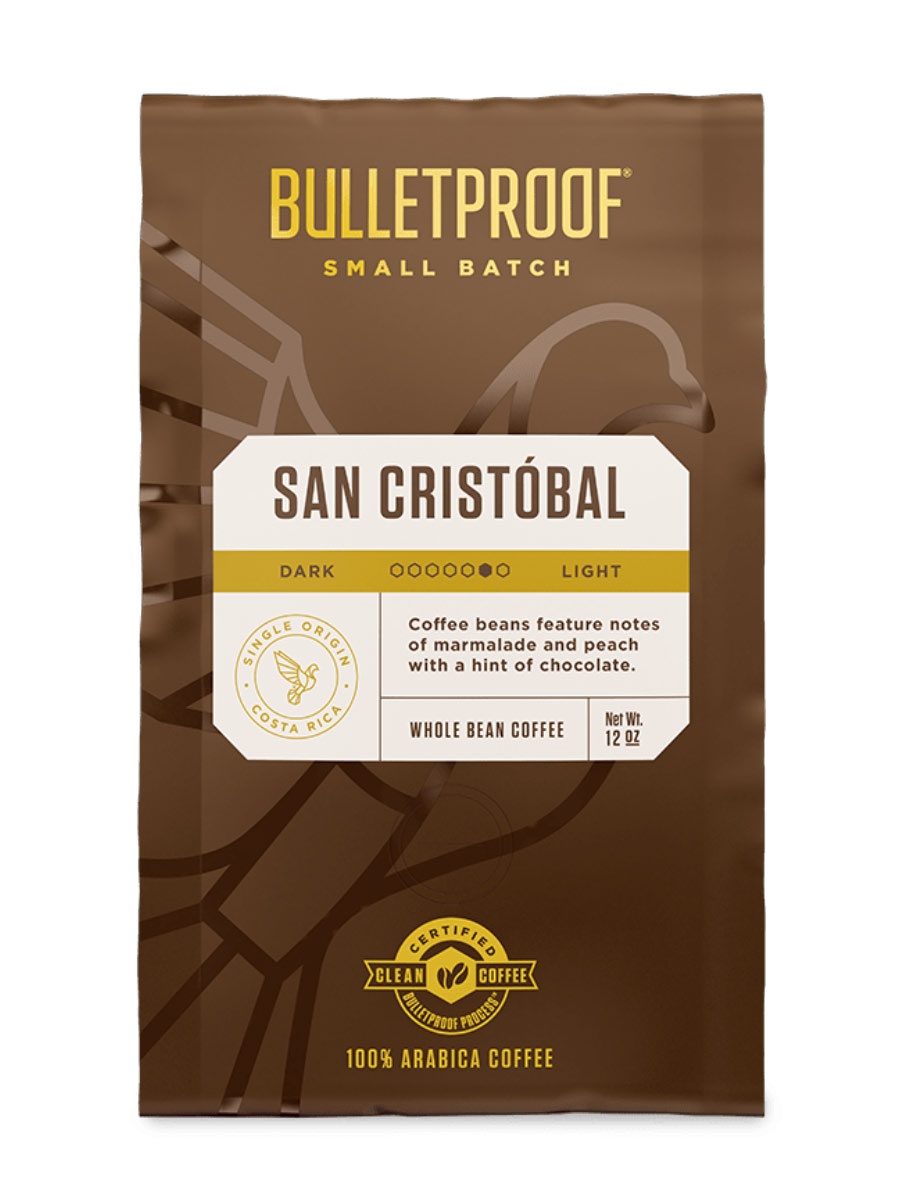 Small Batch San Cristobal Whole Bean Coffee - 12oz