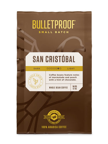 Image: SMALL BATCH SAN CRISTOBAL 12 OZ WHOLE BEAN COFFEE